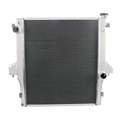 OzCoolingParts 2 Row Core All Aluminum Radiator for 2004-2006 05 Dodge Ram 1500 SRT-10 8.0L 8.3L V10