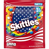 SKITTLES America Mix Red, White & Blue Patriotic Candy, 50 oz. Party Size Bag