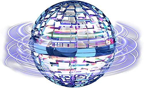 Magic flying ball controller, flash LED giocattolo con bacchetta magica Flynova Pro con sensore a infrarossi, rotazione a 360 °, giocattoli per la casa e giocattoli di decompressione per ufficio