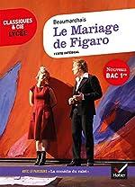 Le Mariage de Figaro - Suivi du parcours « La comédie du valet » de Pierre-Augustin Caron de Beaumarchais