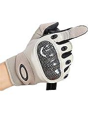 XUE LI ZHOU Hombres y mujeres tácticas al aire libre montar en invierno todo se refiere a guantes cálidos de poliuretano anticortes.