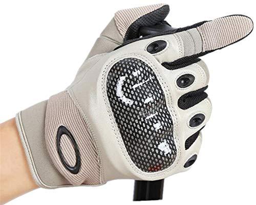 XUE LI ZHOU tácticas de invierno para hombre y mujer para montar en invierno se refiere a guantes cálidos de poliuretano anticortes, Hombre, color gris, tamaño extra-large