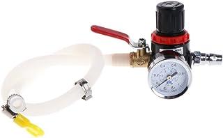 HELYZQ Medidor universal de teste de pressão do radiador do tanque de água de arrefecimento do carro