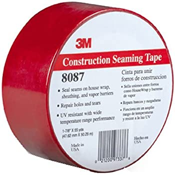 60 mm x 55 m Cantech Tuck Tape Construction Grade Blue Sheathing Tape