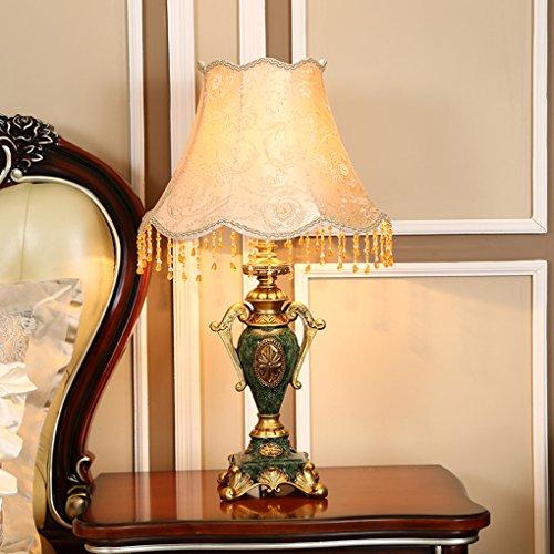 Bonne chose lampe de table Lampe De Table Européenne Creative Living Room Lampe De Table Décorative Lampe De Chambre D'étude Lampadaire De Nuit (Couleur : Small 50cm)