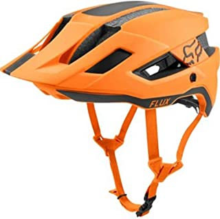 FOX Flux Rush, Casco, Naranja (Atomic Orange), Talla XS/S