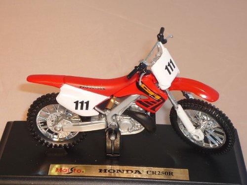 Honda Cr250r Cr250 R Cr 250 Rot 1/18 Maisto Modellmotorrad Modell Motorrad
