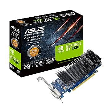 Asus GeForce GT 1030 2GB GDDR5 HDMI DVI Graphics Card  GT1030-2G-CSM