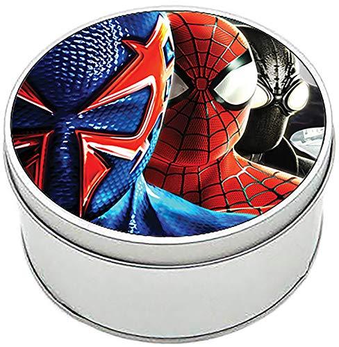 MasTazas Spiderman Spider-Man Shattered Dimensions Caja Redonda Lata Round Metal Tin Box