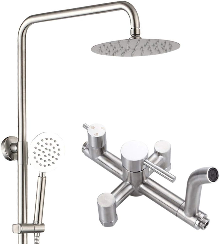 LHW Shower Set chset, Lift Duschset, Edelstahl, Bad, Duschkopf, 3. Gang, Dusche, Bad, Duschkopfdusche, Wanddusche