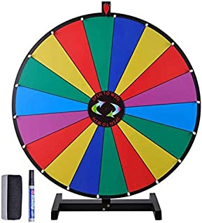 """GC Global Direct Spinning Wheel Game Prize 30"""" with 18 Slots"""