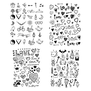 Best small heart tattoos Reviews