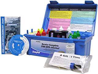 Taylor Service Complete Pool Water Test Kit K-2006C