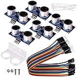 kuman 5pcs Hc-sr04 Ultrasónico Medición de distancia Módulo Sensor Para Arduino R3 Mega2560 Duemilanove Nano Robot XBee ZigBee K18