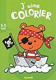 J'aime colorier (3-5 ans) (Ourson Pirate)