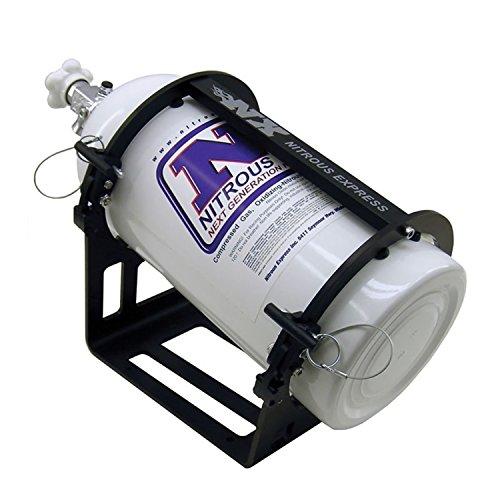 Nitrous Express 11106 Stainless Steel Bottle Bracket for 10 and 15 lb Aluminum Nitrous Bottle