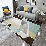 QWEASDZX Tapis Doux Salon Tapis Chambre Décor À La Maison Chambre d'enfant Couverture Rectangulaire Salon Tapis 160x230cm