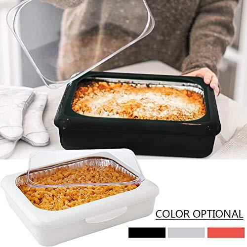 Conemmo 2in1 Foil Pans Hittebestendige Barbecue Lade Fruit Voedselplaat Hoge Temperatuur Weerstand Bakplaat Voor Binnen Buiten