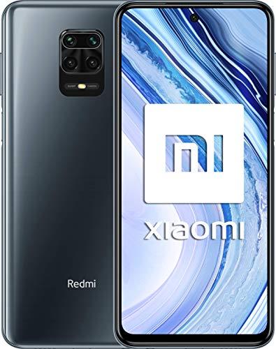 Xiaomi スマートホン Xiaomi Redmi Note 9 Proグローバル版 6GB RAM 128GB ROM・SIMフリースマートフォン 日本語対応・Android 10, MIUI 11搭載 Googleアプリ対応 6400万画素カメラ 5020mAhバッテリ 6.67インチ IPS 1080 x 2400 (Intersteller Grey/グレー)