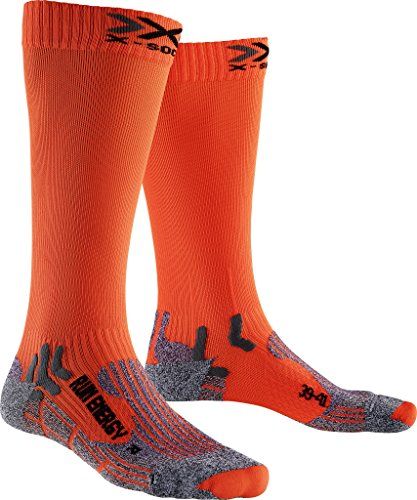 X-SOCKS Messieurs Run Energizer Chaussette, Homme, Run Energizer, Orange Sunshine