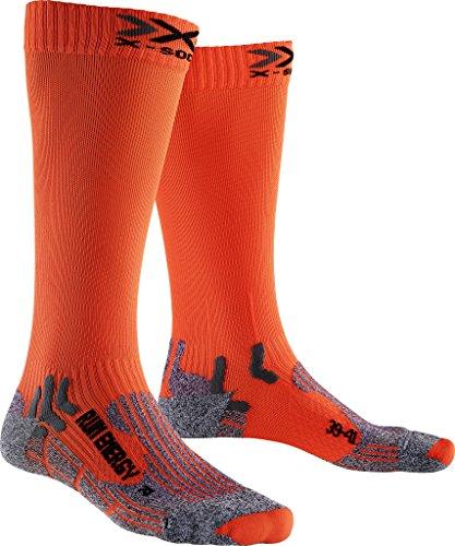 X-SOCKS Messieurs Run Energizer Chaussette, Homme, Run Energizer, Orange Sunshine
