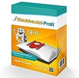 10 Staubsaugerbeutel geeignet für Siemens VS06B1110 synchropower von Staubbeutel-Profi®