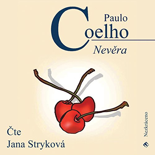 Nevěra audiobook cover art