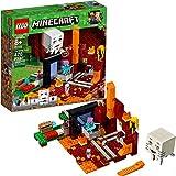 LEGO Minecraft The Nether Portal 21143 - Kit de construcción (470 piezas)