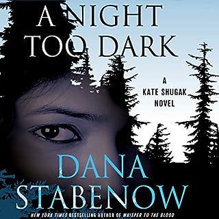 A Night Too Dark audiobook cover art