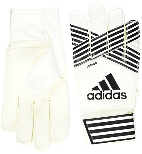 adidas Kinder ACE Junior Torwarthandschuhe, White/Core Black/Onix, 5