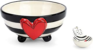 Best black and white striped bowl Reviews