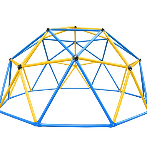 Zupapa Dome Climber Outdoor Toys for Kids 2020 Upgraded Jungle Gym, 1-6 Kids Climbing Together