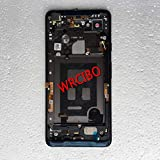 Lysee Mobile Phone Housings & Frames - Wrcibo for Pixel 2 XL 6' Black Back Housing with Dock Connector Loud Speaker Power Button Frame Adhesive Replacement Part - (Color: for Pixel 2 XL Black)