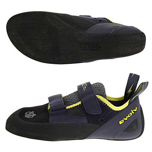 Evolv Defy Climbing Shoe - Black/Sulphur 9
