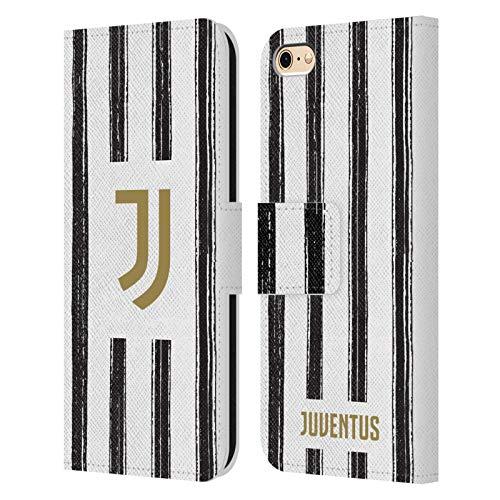 Head Case Designs Licenza Ufficiale Juventus Football Club in Casa 2020/21 Kit Abbinato Cover in Pelle a Portafoglio Compatibile con Apple iPhone 6 / iPhone 6s