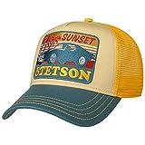 Stetson Cappellino Trucker Sunset Uomo - Baseball cap Mesh Berretto Snapback, con Visiera, Visiera Estate/Inverno - Taglia Unica Giallo