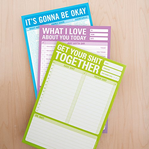 Knock Knock What I Love About You Checklist Note Pad, 6 x 9-inches Photo #4