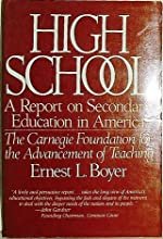 High School: A Report on Secondary Education in America/the Carnegie Foundation for the Advancement of Teaching