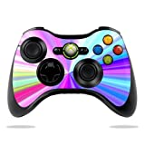 MightySkins Skin Compatible with Microsoft Xbox 360 Controller - Rainbow Zoom | Protective, Durable, and Unique Vinyl Decal wrap Cover | Easy to Apply, Remove, and Change Styles | Made in The USA