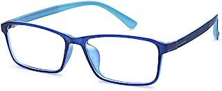 Jcerki Blue Light Filter Nearsighted Distance Glasses -1.50 Strength Men Women Anti Eyestrain UV Blocking Myopia Eyeglasses **These are not Reading Glasses**