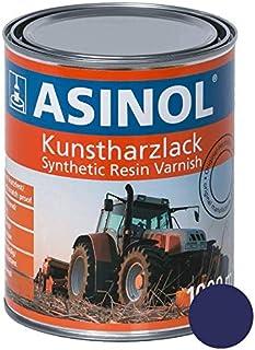 ASINOL RAL 5022 nachtblau hochglänzend 1 Liter, 1.000ml Kunstharzlack