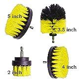 Malat - Juego de cepillo eléctrico para cepillos de baño (4 piezas)