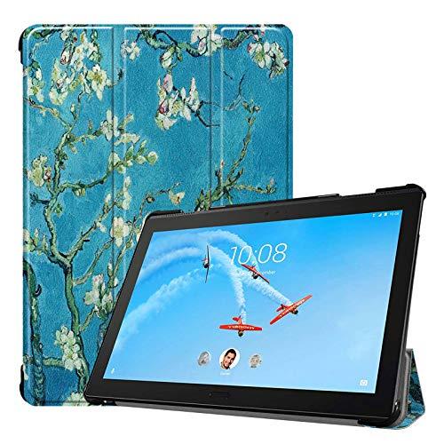 Tablet Hülle für Lenovo Tab P10 TB-X705F 10.1 Zoll Slim Hülle Etui mit Standfunktion & Auto Sleep/Wake Funktion Lila