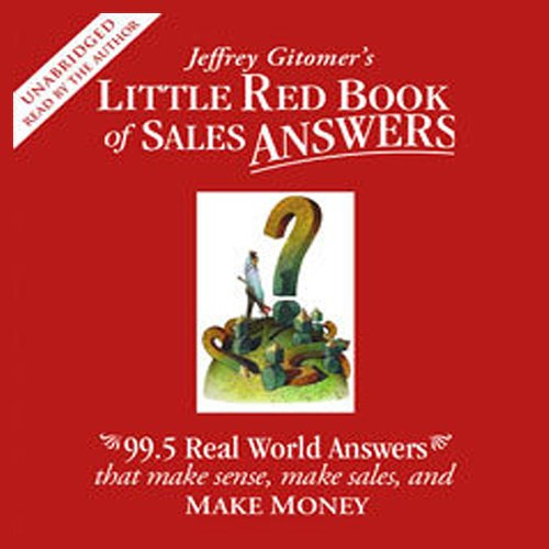Little Red Book of Sales Answers audiobook cover art