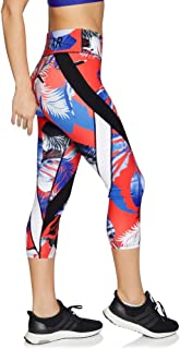 Rockwear Activewear Women's Olympia 7/8 Print Perforated Tight from Size 4-18 for 7/8 Length High Bottoms Leggings + Yoga Pants+ Yoga Tights