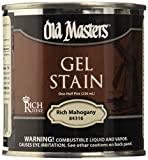 Old Masters 158794 84316 Hpt Deep Red Gel Stain, Rich Mahogany