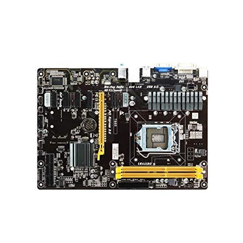 Desktop Mainboard. Scheda Madre Fit for Biostar TB85 Desktop Board B85 LGA 1150 I7 I5 I3 DDR3 6GP 6 PCIE Originale (Sostituzione H81 H61 TB250 PRO BTC)