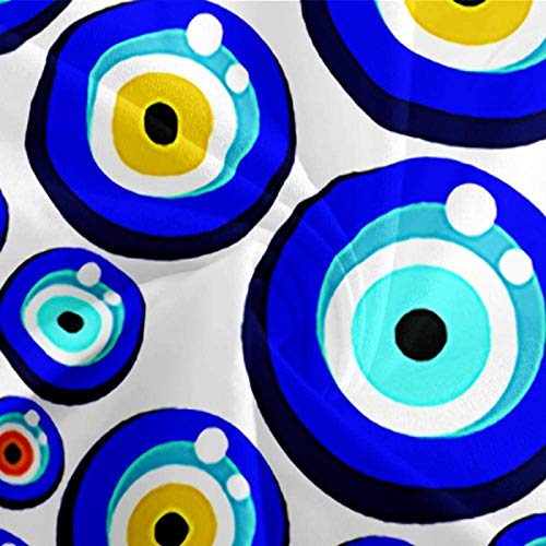 HKDGHTHJ Funda nórdica Ojos de pez creativos 260 x 230 CM Juego de Ropa de Cama de Estilo Simple, Funda de edredón Suave, sábana, Fundas de Almohada, Ropa de Cama para niños y Adultos