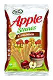 Sensible Portions Apple Straws, Cinnamon, Snack Size, 1 Oz (Pack of 24)