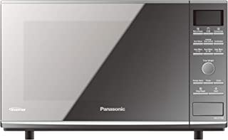 Panasonic 27L Convection Flatbed Microwave Oven, Silver (NN-CF770M)